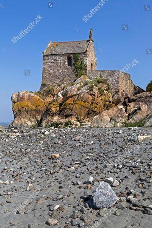 Chapel Mont Saint Michel, Normandy, France