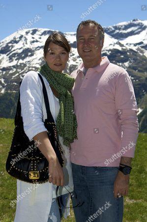 Franziska van Almsick and Juergen B Harder