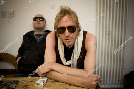Rhys Ifans and Dafydd Ieuan