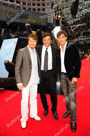 Roman Knizka, Sven Sturm and Tobey Wilson