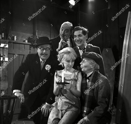 'Bootsie and Snudge' - Robert Dorning, Bill Fraser, Alfie Bass and Clive Dunn.