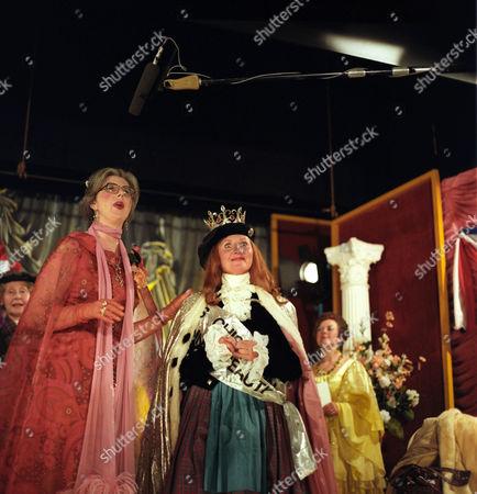 'Super Gran'  TV - 1985 - Damaris Hayman and Lulu as Isla St. Porridge