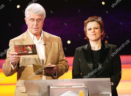 'The Luvvies'  TV - 2004 -    Rhona Cameron with Max Clifford.