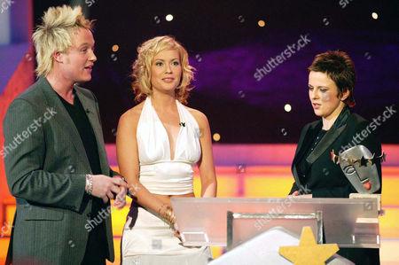 'The Luvvies'  TV - 2004 -    Rhona Cameron with Genini.