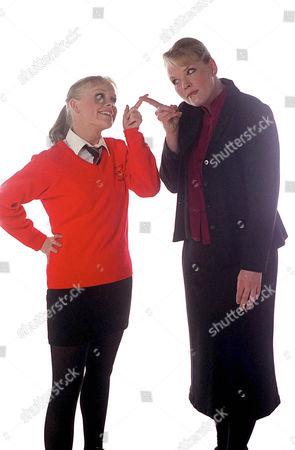 'Big Meg Little Meg'  CITV - 2000 - Vicki Lee Taylor Plays Little Meg, Carolyn Pickles is Big Meg.