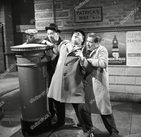 'Bootsie and Snudge' - Bill Fraser, Robert Dorning and Alfie Bass.