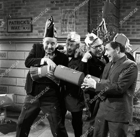'Bootsie and Snudge' - Bill Fraser, Robert Dorning, Clive Dunn, Alfie Bass.