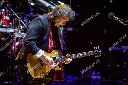 Editorial image of Steve Hackett in concert, Toronto, Canada - 12 Feb 2018