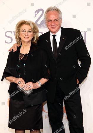 Stock Photo of Sybil Yurman and David Yurman