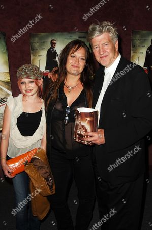 Jennifer Lynch, daughter Sydney and David Lynch
