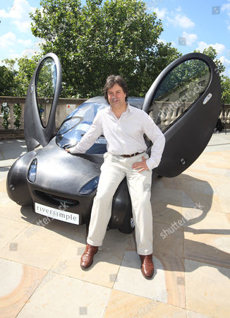 Editorial photo of The new Riversimple hydrogen-powered urban car unveiled at Somerset House, London, Britain - 16 Jun 2009