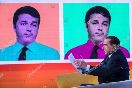 Editorial image of Forza Italia (FI) leader Silvio Berlusconi in Rome, Rome, Italy - 15 Feb 2018