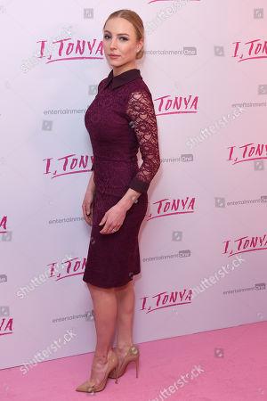 Editorial image of 'I, Tonya' film premiere, Arrivals, London, UK - 15 Feb 2018
