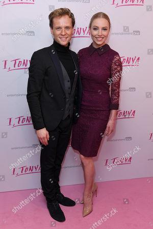 Stock Photo of Mark Hanretty and Maria Sergejeva