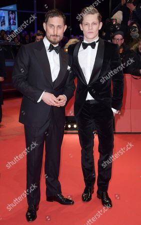 Clemens Schick (L) and Max von der Groeben pose at the red carpet for the opening ceremony of the 68th annual Berlin International Film Festival (Berlinale), in Berlin, Germany, 15 February 2018. The Berlinale runs from 15 to 25 February.