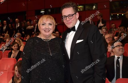 Claudia Roth (L) and Konstantin von Notz pose at the opening ceremony of the 68th annual Berlin International Film Festival (Berlinale), in Berlin, Germany, 15 February 2018. The Berlinale runs from 15 to 25 February.