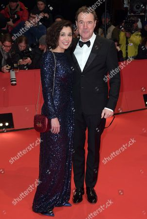 Dorka Gryllus (L) and Sebastian Koch pose on the red carpet of the opening ceremony of the 68th annual Berlin International Film Festival (Berlinale), in Berlin, Germany, 15 February 2018. The Berlinale runs from 15 to 25 February.