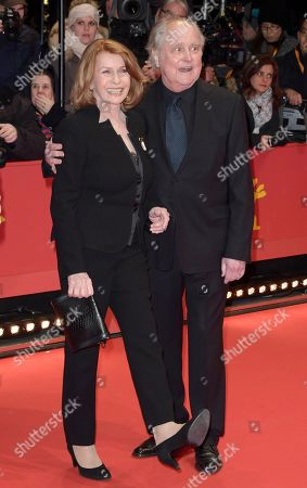 Senta Berger and Michael Verhoeven (R) pose on the red carpet of the opening ceremony of the 68th annual Berlin International Film Festival (Berlinale), in Berlin, Germany, 15 February 2018. The Berlinale runs from 15 to 25 February.