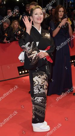 Mari Natsuki poses on the red carpet of the opening ceremony of the 68th annual Berlin International Film Festival (Berlinale), in Berlin, Germany, 15 February 2018. The Berlinale runs from 15 to 25 February.