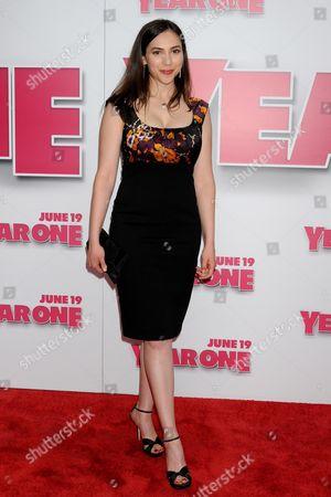 Editorial photo of 'Year One' world film premiere, New York, America - 15 Jun 2009