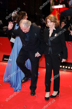 Natalia Woerner and Michael Verhoeven mit Ehefrau Senta Berger