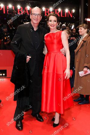 Herbert Knaup mit Ehefrau