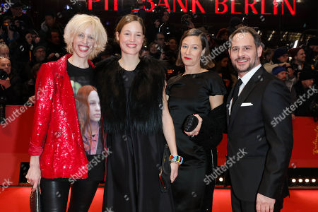 Katja Eichinger, Vicky Krieps, Johanna Wokalek and Moritz Bleibtreu