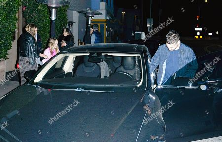 Editorial picture of Tobey Maguire and Jennifer Meyer out and about, Los Angeles, USA - 14 Feb 2018