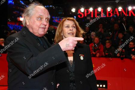 Senta Berger, husband Michael Verhoeven
