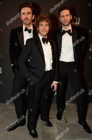 Teo Van Den Broeke, Luke Day and Jonathan Heaf