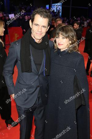 Marie Steinmann and Tom Tykwer