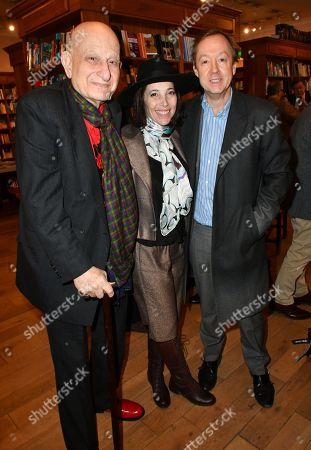 Naim Attallah, Christina Oxenberg, Geordie Greig