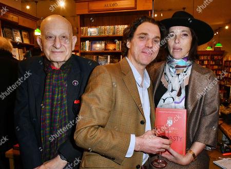 Naim Attallah, Sacha Newley, Christina Oxenberg