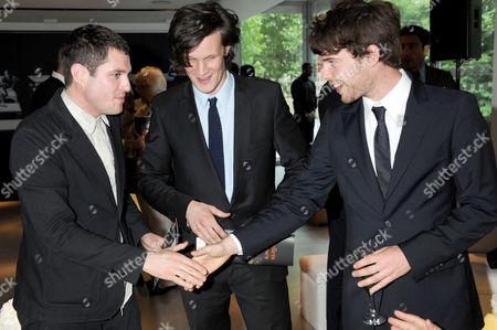 Mathew Horne, Matt Smith and Harry Treadaway