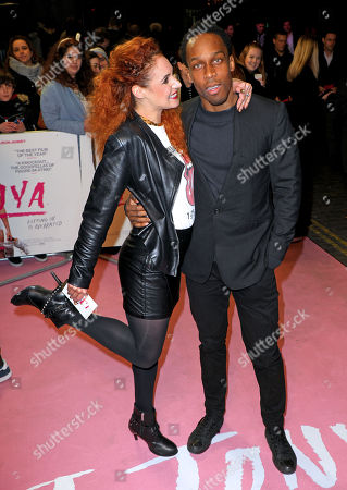 Stock Image of Lemar and Melody Le Moal