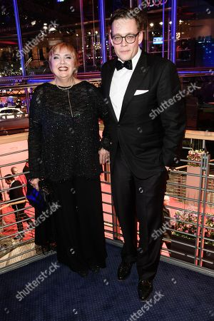 German Green party politicians Claudia Roth (L) and Konstantin von Notz pose during the opening party after the screening of 'Isle of Dogs' at the 68th annual Berlin International Film Festival (Berlinale), in Berlin, Germany, 15 February 2018. The Berlinale runs from 15 to 25 February.