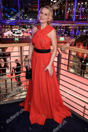 German television presenter  Nova Meierhenrich poses during the opening party after the screening of 'Isle of Dogs' at the 68th annual Berlin International Film Festival (Berlinale), in Berlin, Germany, 15 February 2018. The Berlinale runs from 15 to 25 February.