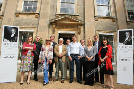 Nicola Horlick, Martin Baker, Pattie Boyd, Lord Charles Spencer, Stanley Johnson, William Spencer, Saul David, Bernard Cornwell, Fiona Millar, Alastair Campbell and Suzi Fe