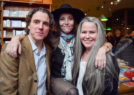 Stock Picture of Sasha Newly, Christina Oxenberg and Koo Stark