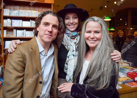 Editorial image of Christina Oxenberg 'Dynasty' book launch party, London, UK - 15 Feb 2018
