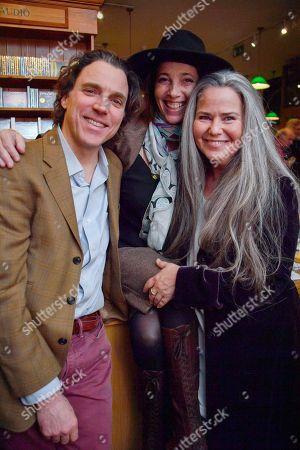 Sasha Newly, Christina Oxenberg and Koo Stark
