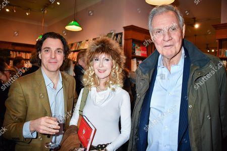 Sasha Newly, Basia Briggs and Jonathan Aitken