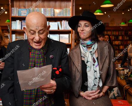 Naim Attallah and Christina Oxenberg