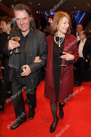 Corinna Harfouch mit Partner Wolfgang Krause Zwieback
