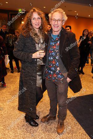 Dani Levy mit Partner Sabine Lidl