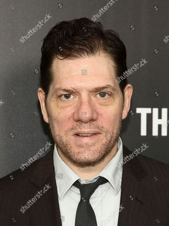 "Stock Picture of Adam Rapp attends the premiere of Hulu's limited dramatic series ""The Looming Tower"" at The Paris Theatre, in New York"