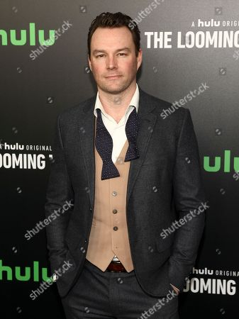 """Mark Hildreth attends the premiere of Hulu's limited dramatic series """"The Looming Tower"""" at The Paris Theatre, in New York"""