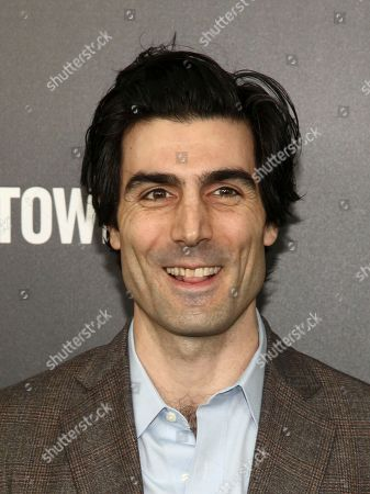 """Louis Cancelmi attends the premiere of Hulu's limited dramatic series """"The Looming Tower"""" at The Paris Theatre, in New York"""