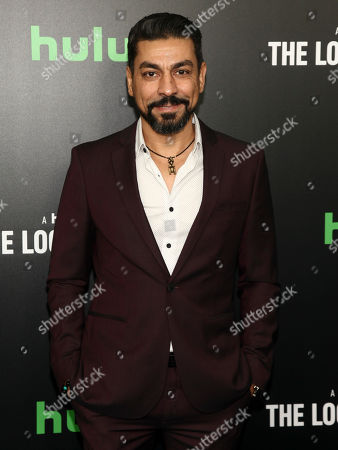 """Stock Image of Ayman Samman attends the premiere of Hulu's limited dramatic series """"The Looming Tower"""" at The Paris Theatre, in New York"""