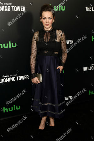 "Virginia Kull attends the premiere of Hulu's limited dramatic series ""The Looming Tower"" at The Paris Theatre, in New York"